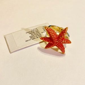 Marc Jacobs Coral Palm Ring